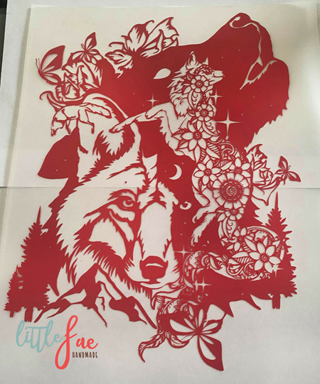 Red Fox Heat Press Vinyl