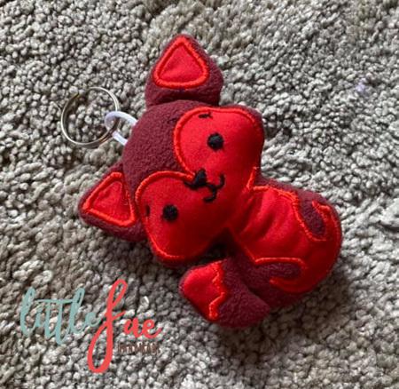 Red Fox Keyring