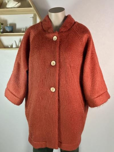 Red fox Kimono coat