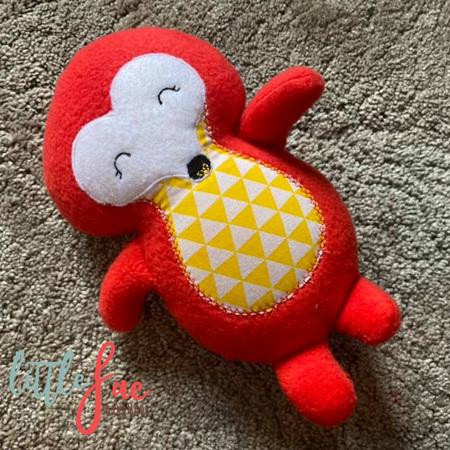 Red Hedgehog Soft Toy