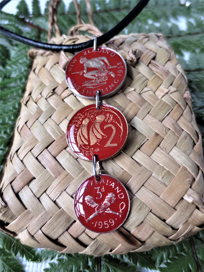 Red Multi coins
