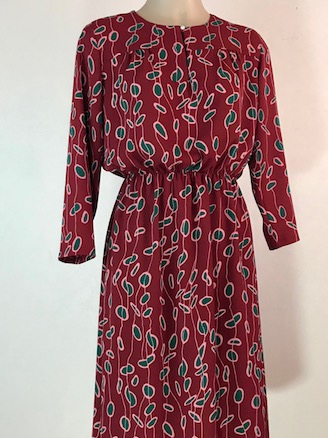 Red Nina dress