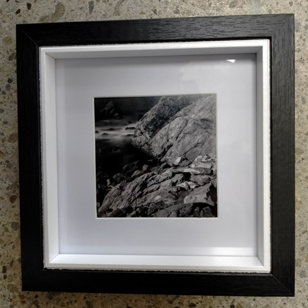 Red Rocks - Framed Photograph - 18.2 x 18.2cm
