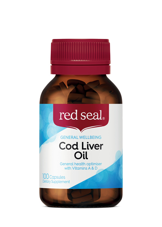Red Seal Cod Liver Oil 100 Capsules