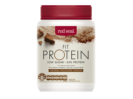 Red Seal Fit Protein Chocolate 500g