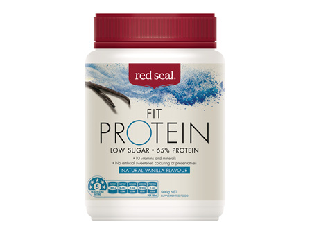 Red Seal Fit Protein Vanilla 500g