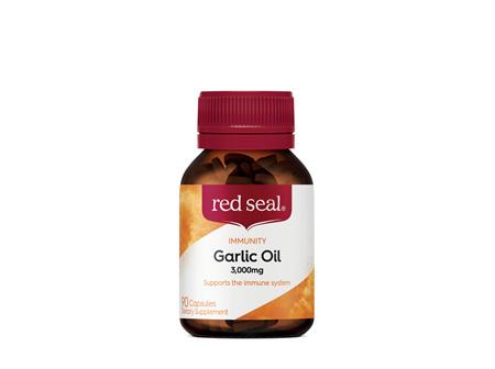 Red Seal Garlic Oil 3000mg 90 Capsules