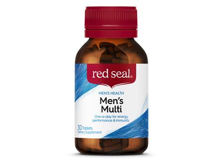 Red Seal Men's Multivitamin 30 Tablets
