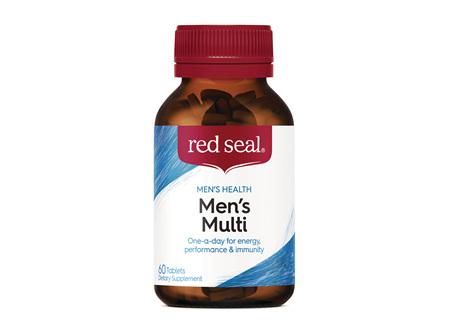 Red Seal Men's Multivitamin 60 Tablets