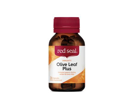 Red Seal Olive Leaf 36 Capsules