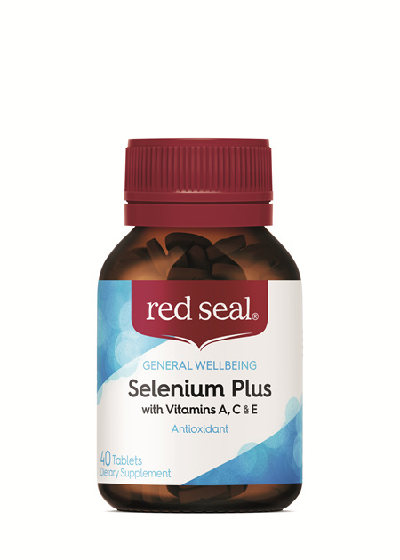 Red Seal Selenium plus with Vitamins A,C,E 40 Tablets