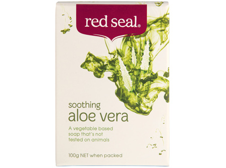Red Seal Soap Aloe Vera 100g