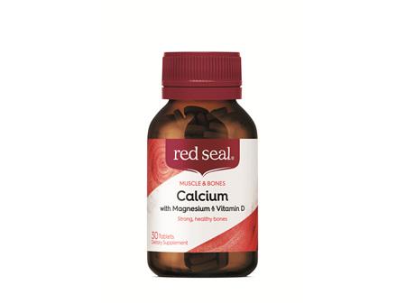 Red Seal Tabs Calcium w/ Magnesium 30's