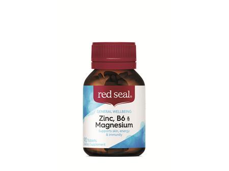 Red Seal Tabs Zinc, B6 & Magnesium 90's