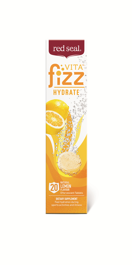 Red Seal VitaFizz Hydrate Lemon 20s