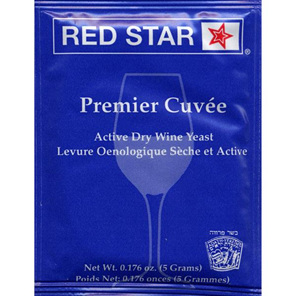 Red Star Premier Cuvee Home Winemaking Yeast 5g