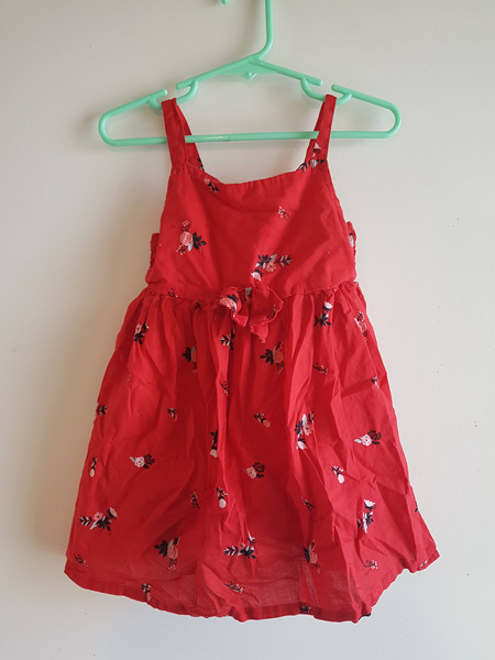 Red Summery Dress