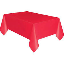 Red Table Cover