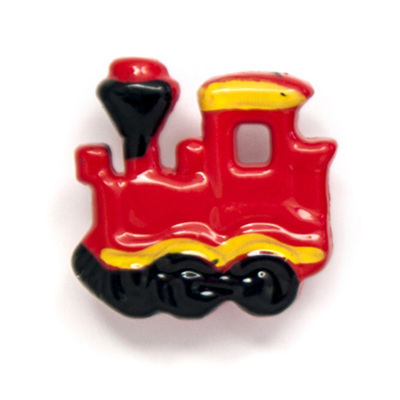 Red Train Buttons