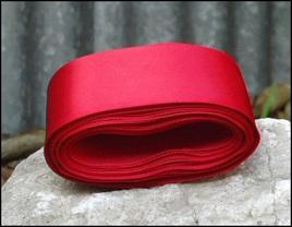 Red Wedding Car Ribbon