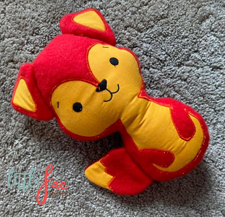Red & Yellow Fox Toy