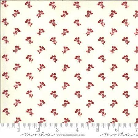 Redwork Gatherings Thistle Bloom Cream 49114-11