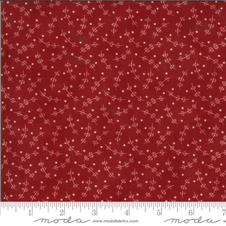 Redwork Gatherings Whirly Flower Red 491112-13