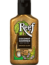 REEF Coco Shimmer Oil SPF15 125ml