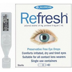 REFRESH DROPS 30 X 0.4ML