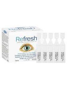REFRESH DROPS 30 X 0.4ML