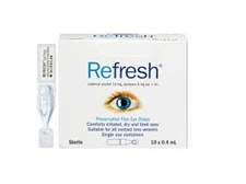 REFRESH EYE DROPS 10 x 0.4ml