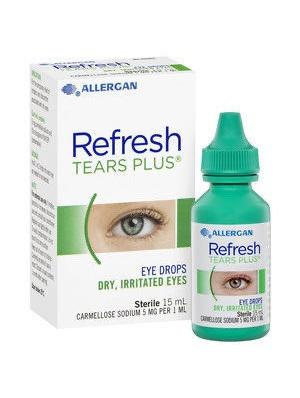 REFRESH TEARS PLUS 0.5% EYE DR.
