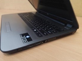 Refurbished ex-lease corporate HP laptop refurbished and wiped using DOD 5220-M