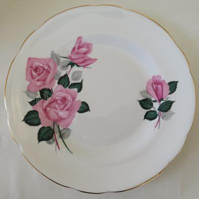 Pink roses trio