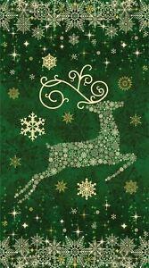 Reindeer Prance Green
