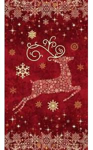 Reindeer Prance Red