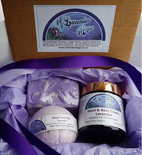 Relax Me - Lavender Gift pack from Lavender Magic NZ
