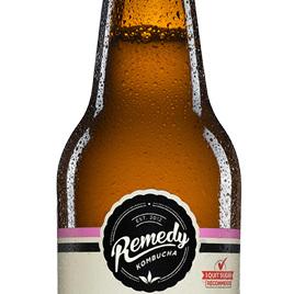 Remedy Organic Kombucha Raspberry Lemonade 330ml