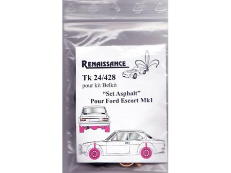 Renaissance 1/24 - Ford Escort MK1 transkit Rally to Race version (for Belkits)