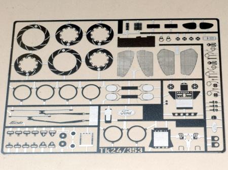 Renaissance 1/24 Ford Fiesta Upgrade Kit (PE) TK24/353