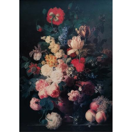 Renaissance Flowers Decoupage Paper by Mint