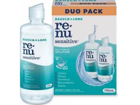 Renu Sensitive 2x355ml Duo Pack