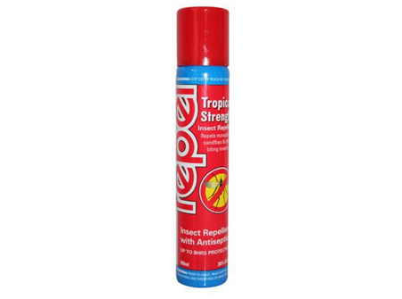 Repel Nz Repel Tropical Strength Aerosol Spray 100Ml