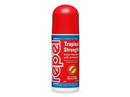 Repel Nz Repel Tropical Strength RollOn 60Ml