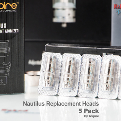 Aspire Nautilus Replacement Heads - 5 Pack