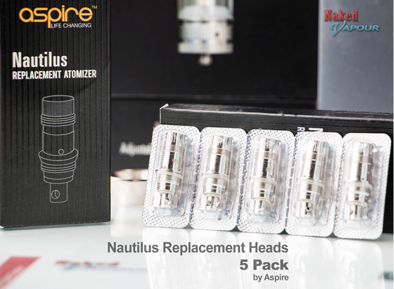 Replacement Nautilus Heads - 5 Pack