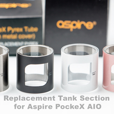 Replacement Tank Section for Aspire PockeX AIO