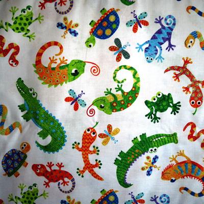 Reptile Ruckus -White