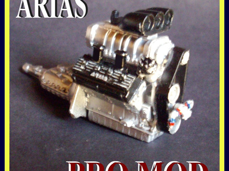 RESIN ARIAS PRO MOD SUPERCHARGED ENGINE KIT 1/24 1/25 SCALE