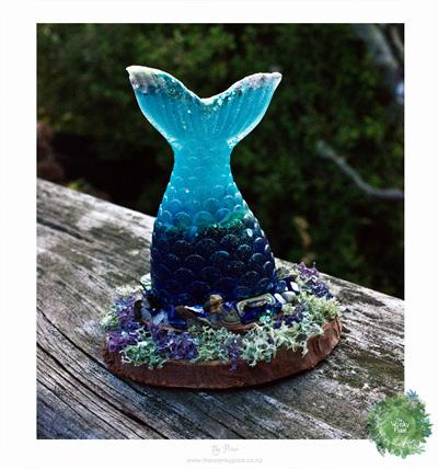 Maya Mermaid Resin Tail